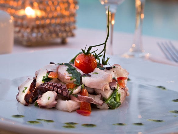 Salad of octopus